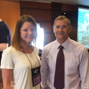 Dr. Runyan and I at the Low Carb Cruise 2015