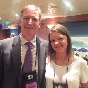 Dr. Westman and I at the Low Carb Cruise 2015