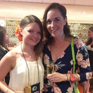 Emily Maguire and I at the Low Carb Cruise 2015