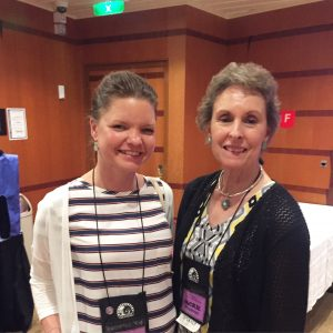 Jackie Eberstein and I at the Low Carb Cruise 2015