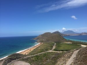 Amazing view on St. Kitts