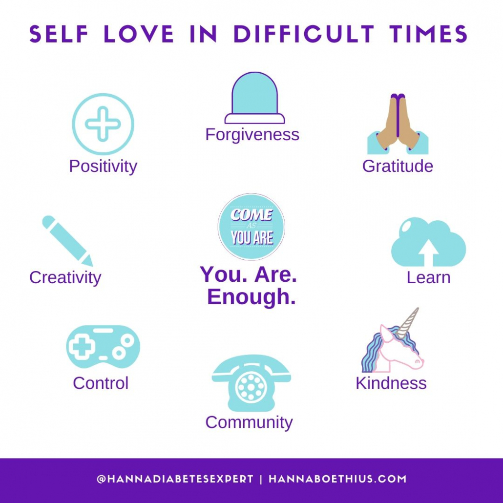 Self Love in Difficult Times - Type 1 Thursday by Hanna Boëthius